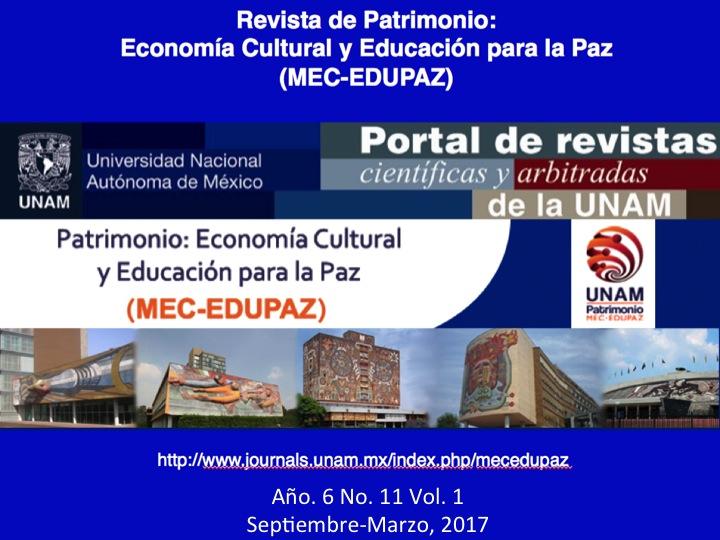 Décimo Primera Edición de la Revista MEC-EDUPAZ con el Tema de Paisaje Cultural y Turismo Sostenible para el Desarrollo