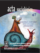Reflexividad y modernidad en la teoría social contemporánea